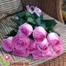 Букет из 11 розовых роз (Иран)