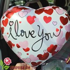 Фольгированный шар в форме сердца